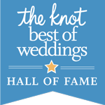 2017 The Knot Best Of Weddings Hall of Fame