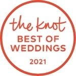 2021 The Knot Best Of Weddings Hall of Fame